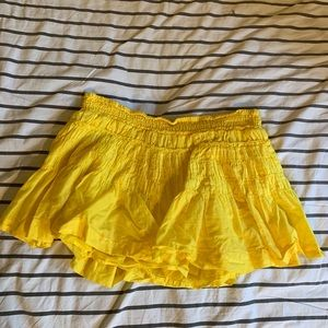 Yellow American Eagle Skirt